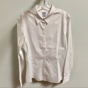 Brooks Brothers Non-Iron Fitted White Shirt